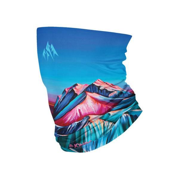 Jones Alpenglow Rainbow Neck Warmer   Jones Snowboard Halsschutz für die kalten Tage am Berg