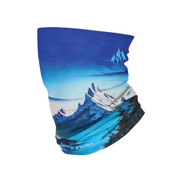 Jones Alpine Vibes Blue Neck Warmer | bis zu 30% Rabatt auf Jones Snowboard Sortiment