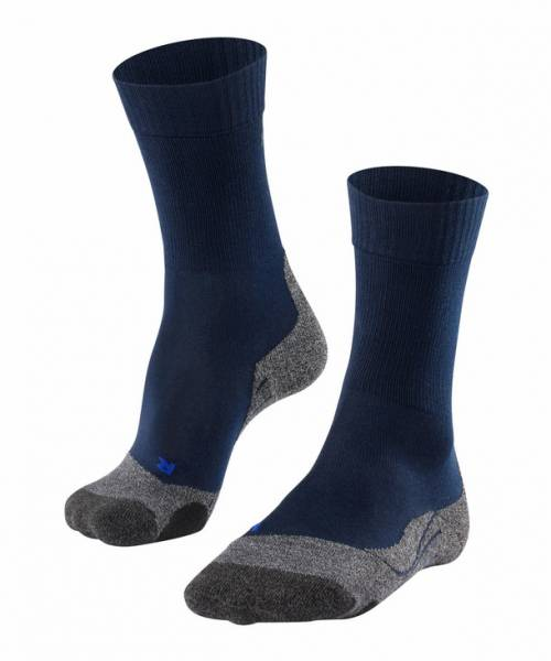 Falke TK2 Cool Herren Trekking Socken Marine