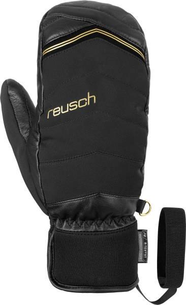 Reusch Lara Gut-Behrami Mitten Black/Gold Signature Skihandschuhe | Onlineshop