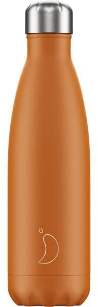 Chillys Trinkflasche Matte Burnt Orange 500ml | ski-shop.ch
