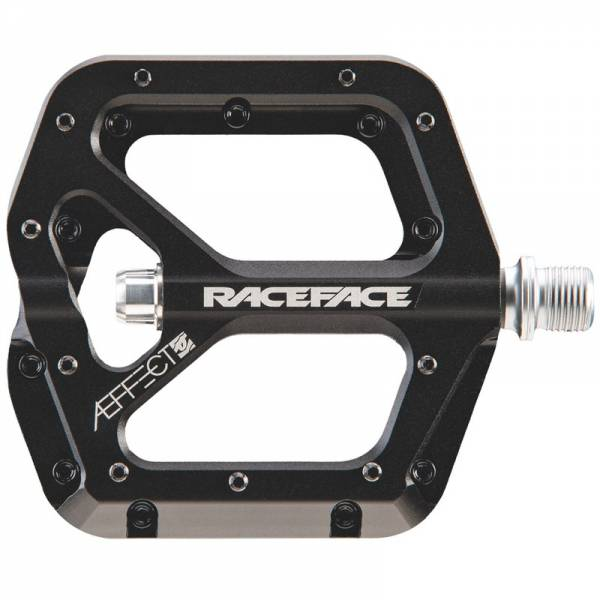 Race Face Aeffect Pedal   Alu Platformpedale black