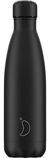 Chillys Trinkflasche Monochrome All Black 500ml | ski-shop.ch