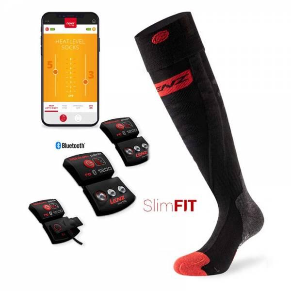 Lenz Heat Sock Toe Cap 5.0 SlimFit Set