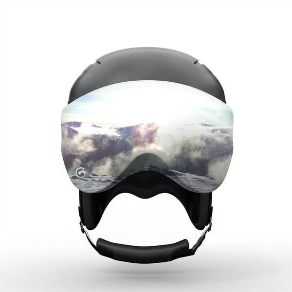 Gogglesoc 7th Heaven Visorsoc | Skibrillen Schutz und Putztuch mit Style