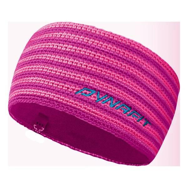 Dynafit Hand Knit Headband lipstick   Handgestricktes Stirnband