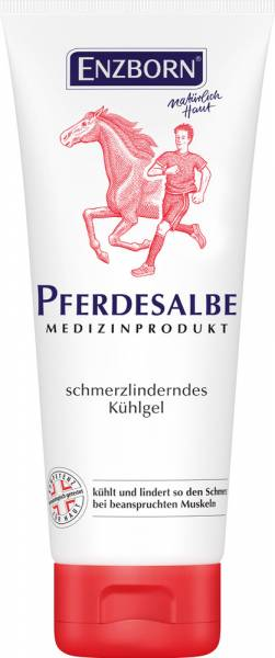 Enzborn Pferdesalbe Medizinprodukt Tube 200 ml
