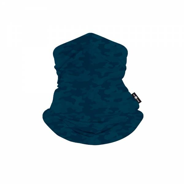 SCARF MASK-Blue Camo