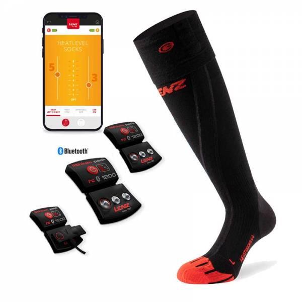 Lenz Heat Sock 6.0 Toe Cap Set