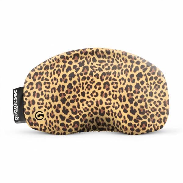 Gogglesoc Leopard Soc   Skibrillen Schutz und Putztuch mit Style