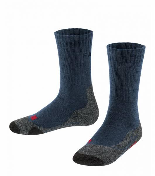 Falke TK2 Kinder Trekking Socken Dark Blue