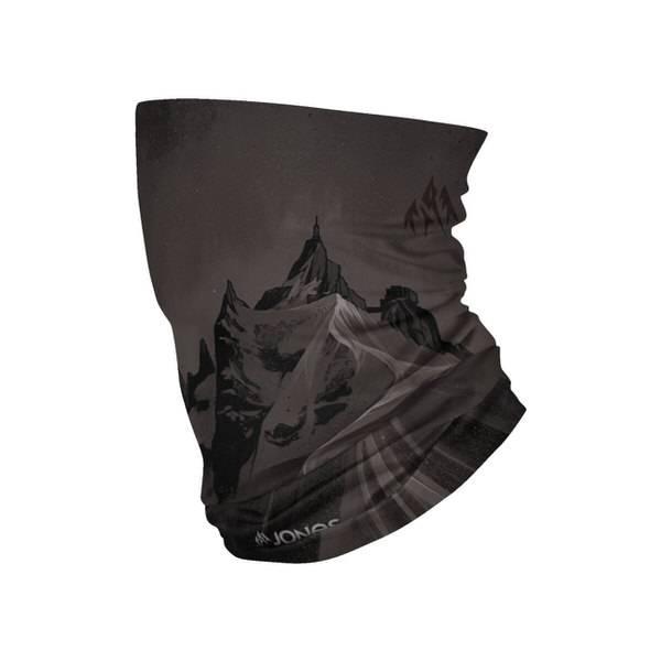 Jones Aiguille Black & White Neck Warmer | Halswärmer | Schneeschutz