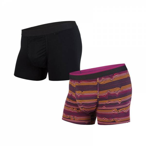BN3TH CLASSICS TRUNK 2-PACK warp stripe purpl