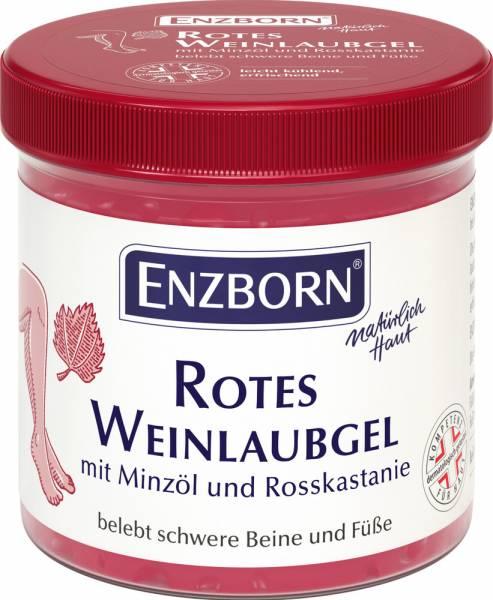 Enzborn rotes Weinlaubgel 200 ml