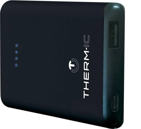 Therm-ic Universal Slim Powerbank 5000mAh   Leistungsstarker Akku für Heizjacke oder heizwesten