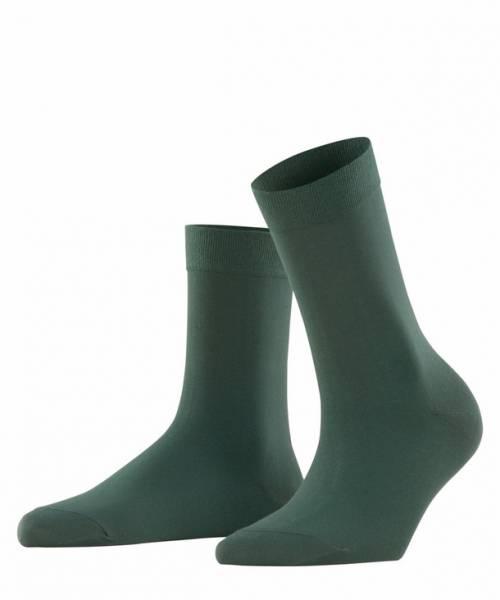 Falke Cotton Touch Damen Socken Hunter Green