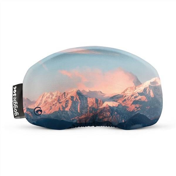 Gogglesoc Peach Mountain | Skibrillen Schutz und Putztuch mit Style