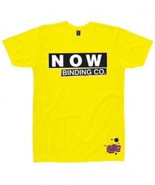 Now Tee Retro Fluoro Yellow