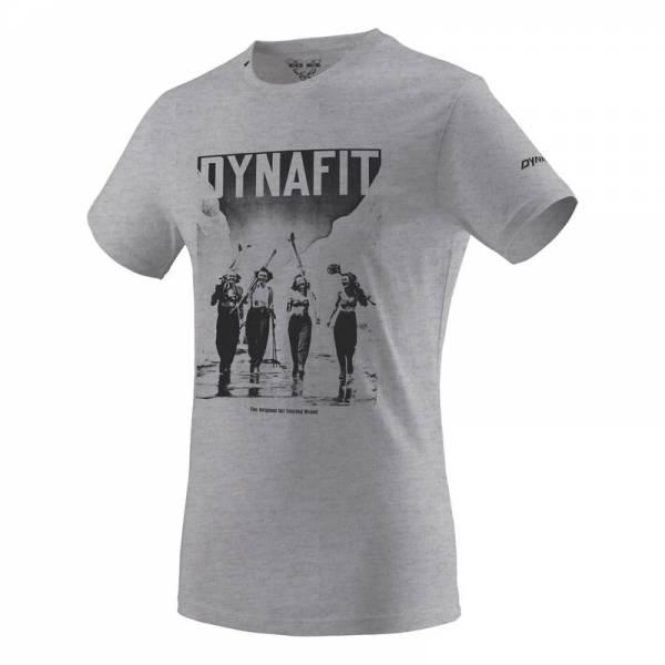 Dynafit Nimbus Melange Girls | T-Shirt mit Stylischem Druck