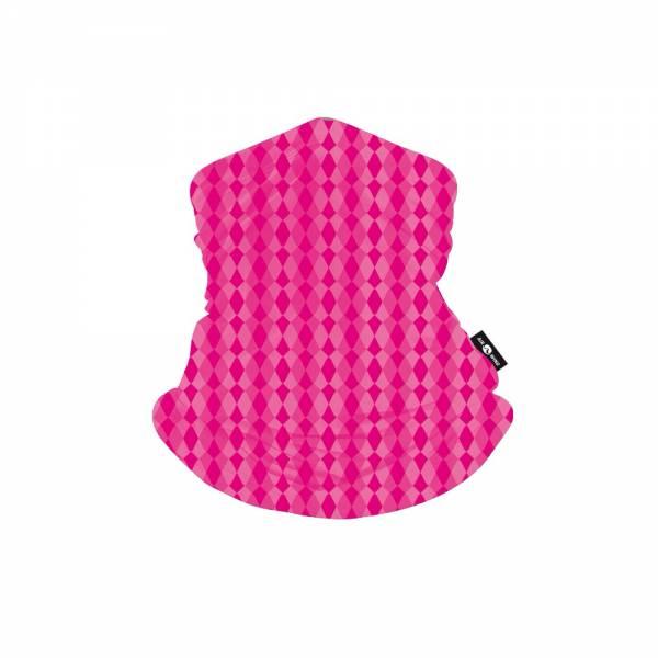 SCARF MASK-Pink Hexa