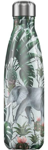 Chillys Trinkflasche Tropical Elephant 500ml | ski-shop.ch | Grosse Flasche