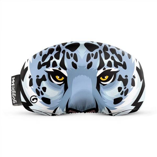 Gogglesoc Snow Leopard Soc   Skibrillen Schutz und Putztuch mit Style