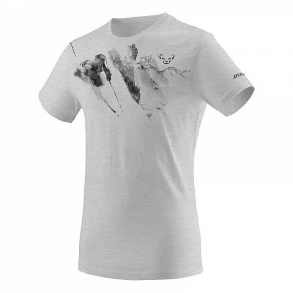 Dynafit Melange Nimbus | Stylisches T-Shirt für die Skipiste