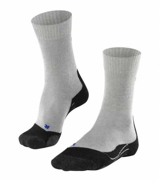 Falke TK2 Cool Damen Trekking Socken Light Grey