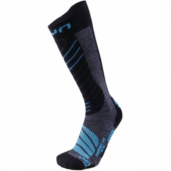 UYN Man Ski Comfort Fit Socks Grey/Melange | ski-shop.ch | sockenstore.ch