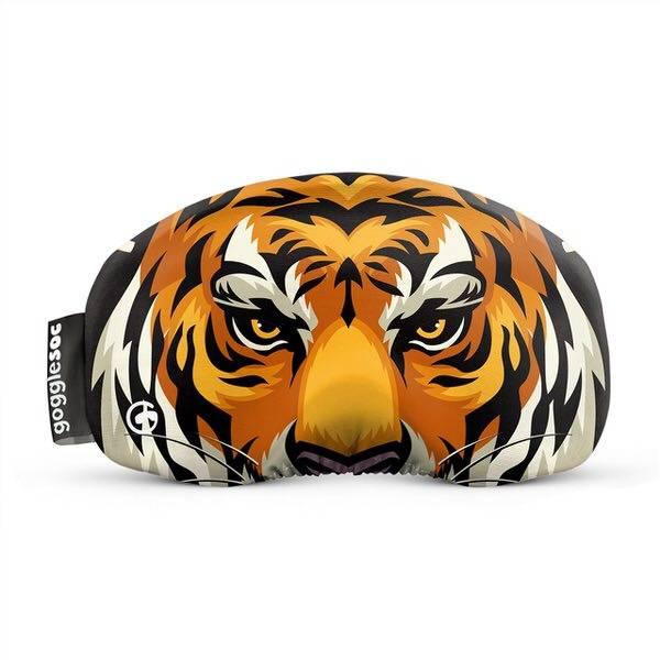Gogglesoc Easy Tiger Soc   Skibrillen Schutz und Putztuch mit Style