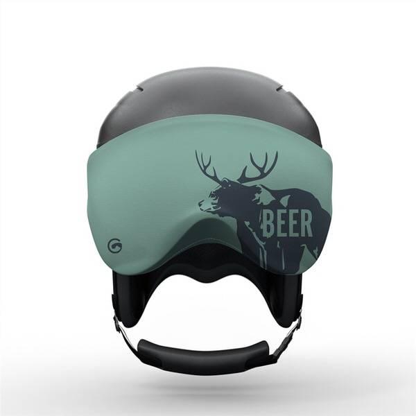 Gogglesoc Beer Visorsoc | Skibrillen Schutz und Putztuch mit Style