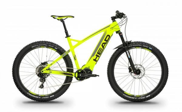 Head Lagos E8000 | E-Bike mit Hardtail in der Farbe Gelb