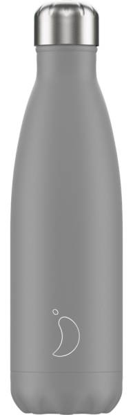 Chillys Trinkflasche Monochrome Grey 500ml | ski-shop.ch