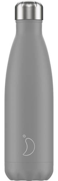 Chillys Trinkflasche Monochrome Grey 500ml   ski-shop.ch