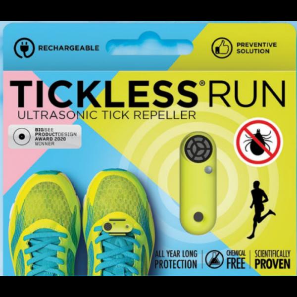 TICKLESS Run ist die unverzichtbare Lösung für Läufer, die ihre Leidenschaft gerne im Freien verehren. Eine perfekte Wahl, wenn Sie nach einer ultraleichten, chemikalienfreien Innovation gegen Zecken suchen