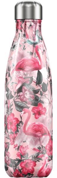 Chillys Trinkflasche Tropical Flamingo 500ml   ski-shop.ch