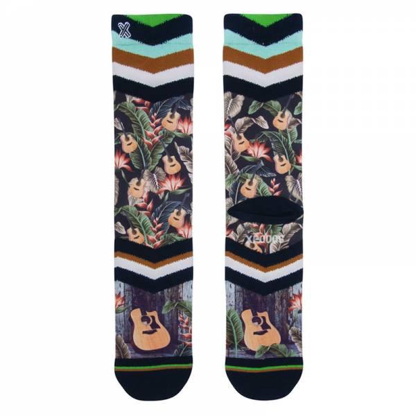 XPOOOS Socks Hawaii Blues