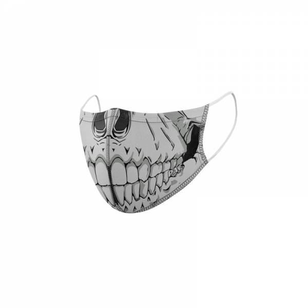 PAC Lightweight Mask 2x Pack Skull Head + Total black