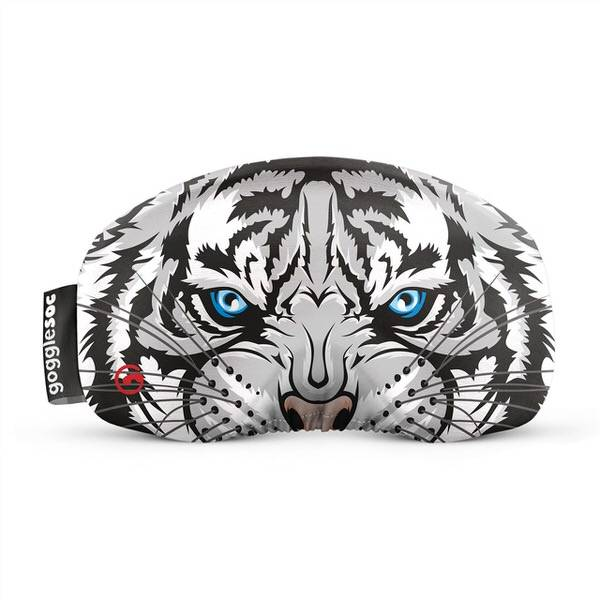 Gogglesoc Siberian Tiger Soc   Skibrillen Schutz und Putztuch mit Style
