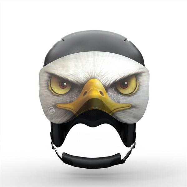 Gogglesoc Freedom Visorsoc | Skibrillen Schutz und Putztuch mit Style