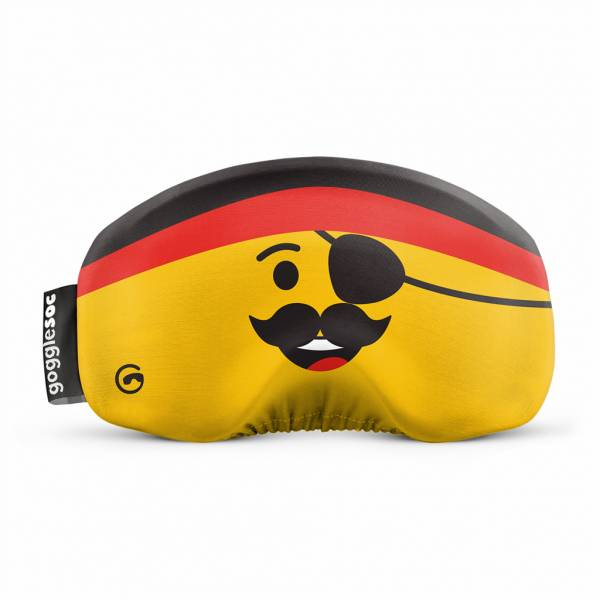 Gogglesoc Pirate | Skibrillen Schutz und Putztuch mit Style