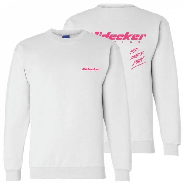 Nidecker Sweatshirt Snowsurf White-Pink