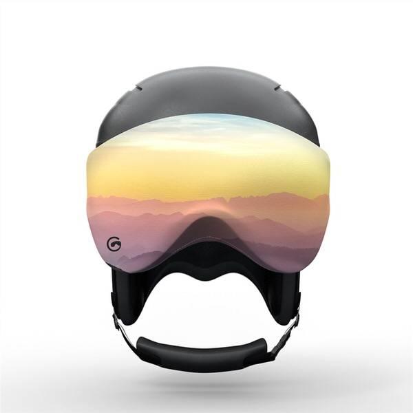 Gogglesoc Mistyc Visorsoc | Skibrillen Schutz und Putztuch mit Style