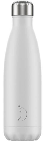 Chillys Trinkflasche Monochrome White 500ml | ski-shop.ch