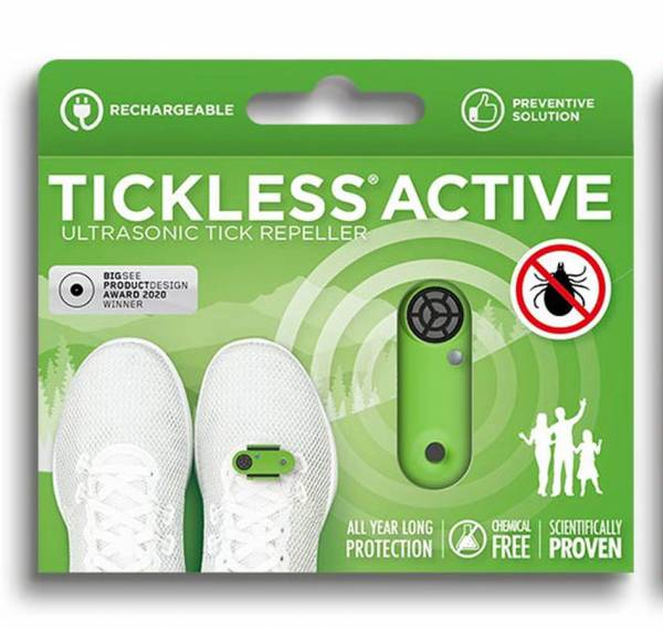 Tickless Active - Ultraschall-Zeckenschutzmittel für alle Altersgruppen