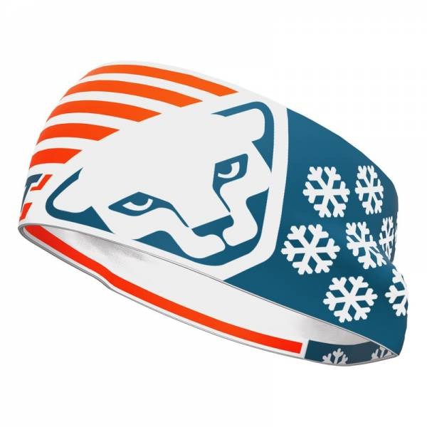 Dynafit Graphic Performance Flag Red/Blue | Headband for Tourskier
