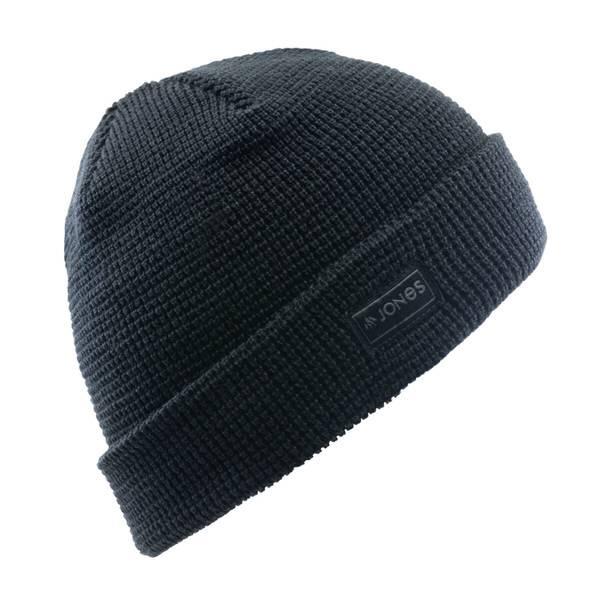 Jones Arlberg Black Beanie   Warme Snowboard-Mütze