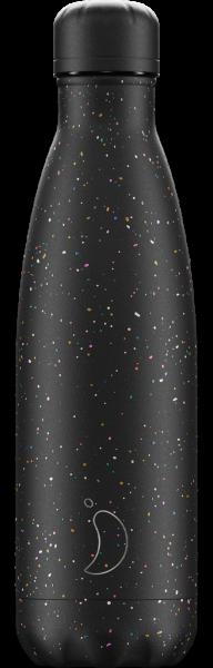 Chillys Trinkflasche Speckle Black 500ml
