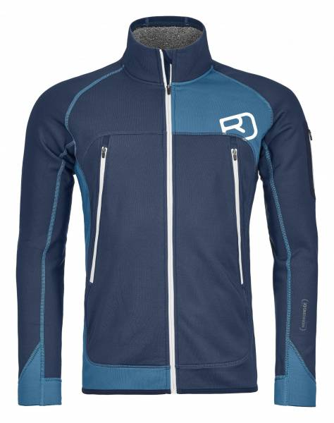 Ortovox Fleece Plus Jacket Men Night Blue