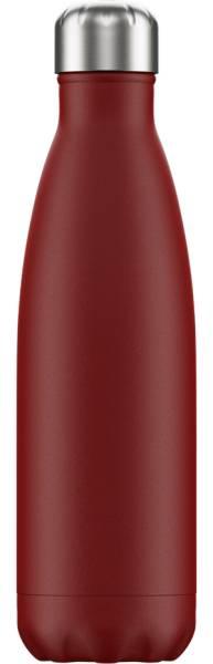 Chillys Trinkflasche Matte Red 500ml   ski-shop.ch